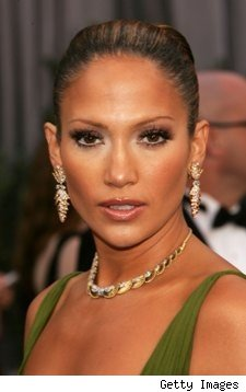 J-Lo with Lashes